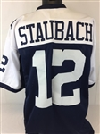 Roger Staubach Dallas Cowboys Custom Alternate Jersey Mens XL