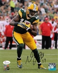 Davante Adams Signed Packers 8x10 Photo vs Chiefs JSA Witness Autograph COA