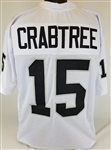 Michael Crabtree Oakland Raiders Custom Away Jersey Mens 3XL