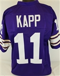 Joe Kapp Minnesota Vikings Custom Home Jersey Mens 3XL