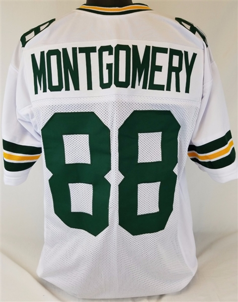 Ty Montgomery Green Bay Packers Custom Away Jersey Mens Large