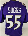 Terrell Suggs Baltimore Ravens Custom Home Jersey Mens XL