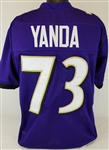 Marshall Yanda Baltimore Ravens Custom Home Jersey Mens XL