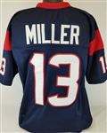 Braxton Miller Houston Texans Custom Home Jersey Mens Large