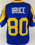 Isaac Bruce Los Angeles Rams Custom Blue/Yellow Home Jersey Mens 2XL