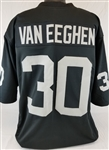 Mark Van Eeghen Oakland Raiders Custom Home Jersey Mens 3XL