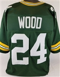 Willie Wood Green Bay Packers Custom Home Jersey Mens 2XL