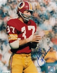 Pat Fischer Signed Washington Redskins 8x10 Photo Autograph PSA COA #AC91621