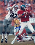 Craig Morton Signed Denver Broncos 8x10 Photo Autograph PSA COA #AC91613