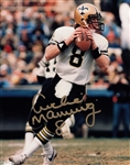 Archie Manning Signed New Orleans Saints 8x10 Photo Autograph PSA COA #AC91611