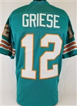 Bob Griese Miami Dolphins Custom Home Jersey Mens 3XL