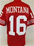 Joe Montana San Francisco 49ers Custom Home Jersey Mens XL