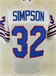 O.J. Simpson Buffalo Bills Custom Away Jersey Mens Large
