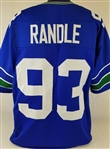 John Randle Seattle Seahawks Custom Home Jersey Mens 2XL