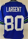 Steve Largent Seattle Seahawks Custom Home Jersey Mens 2XL