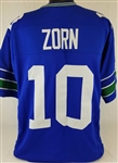 Jim Zorn Seattle Seahawks Custom Home Jersey Mens Large