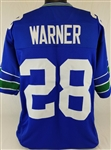 Curt Warner Seattle Seahawks Custom Home Jersey Mens 2XL