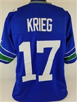 Dave Krieg Seattle Seahawks Custom Home Jersey Mens 2XL