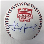 Josh Harrison Pittsburgh Pirates Signed 2014 All-Star Baseball JSA COA #l26999