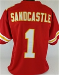Leon Sandcastle Kansas City Chiefs Custom Home Jersey Mens Large