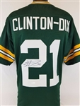 Haha Clinton-Dix Packers Signed Green Jersey JSA Witness Auto Autograph