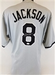 Bo Jackson Chicago White Sox Signed Gray Jersey JSA Witness Auto Autograph