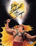 "Ricky Steamboat ""The Dragon"" Signed 8x10 Photo Autograph Beckett BAS #C23920"