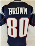 Troy Brown New England Patriots Custom Home Jersey Mens 3XL