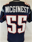 Willie McGinest New England Patriots Custom Home Jersey Mens 3XL