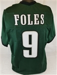 Nick Foles Philadelphia Eagles Custom Home Jersey Mens Large
