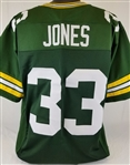 Aaron Jones Green Bay Packers Custom Home Jersey Mens Large