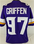 Everson Griffen Minnesota Vikings Custom Home Jersey Mens 2XL