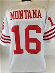 Joe Montana San Francisco 49ers Custom Away Jersey Mens 3XL