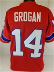 Steve Grogan New England Patriots Custom Alternate Jersey Mens Large