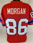 Stanley Morgan New England Patriots Custom Alternate Jersey Mens Large