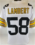 Jack Lambert Pittsburgh Steelers Custom Away Jersey Mens 2XL
