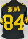 Antonio Brown Pittsburgh Steelers Custom Color Rush Jersey Mens 2XL