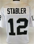 Ken Stabler Oakland Raiders Custom Away Jersey Mens 2XL