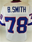 Bruce Smith Buffalo Bills Custom Away Jersey Mens Large
