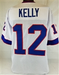 Jim Kelly Buffalo Bills Custom Away Jersey Mens Large