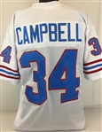 Earl Campbell Houston Oilers Custom Away Jersey Mens XL