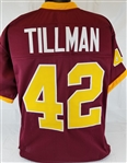 Pat Tillman Arizona State Sun Devils Custom Maroon Football Jersey Mens XL
