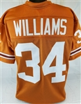 Ricky Williams Texas Longhorns Custom Orange Football Jersey Mens XL