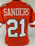 Barry Sanders Oklahoma State Cowboys Custom Orange Football Jersey Mens XL
