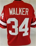 Herschel Walker Georgia Bulldogs Custom Red Football Jersey Mens XL