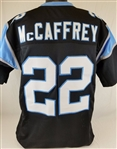 Christian McCaffrey Carolina Panthers Custom Home Jersey Mens 3XL