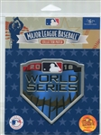 Official Licensed 2018 MLB World Series Collector Patch Boston Red Sox vs Dodgers
