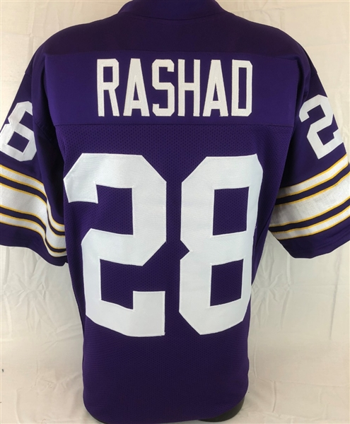 Ahmad Rashad Minnesota Vikings Custom Home Jersey Mens 3XL