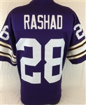 Ahmad Rashad Minnesota Vikings Custom Home Jersey Mens 2XL