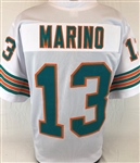Dan Marino Miami Dolphins Custom Away Jersey Mens 2XL